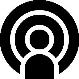 ポッド キャスト デジタル無料アイコン