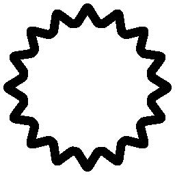 Uneclipsed 太陽概要無料アイコン