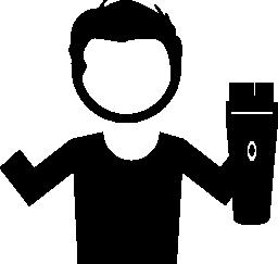 美容室の無料のアイコン