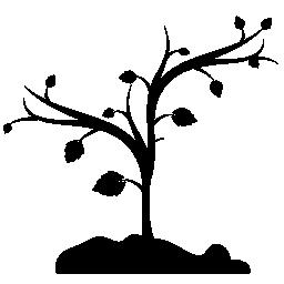 ツリー図形の無料アイコン
