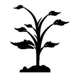 植物の地面無料アイコン