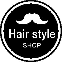 髪スタイル ショップ バッジ口ひげ形状無料アイコン