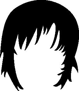 短い髪の無料のアイコン