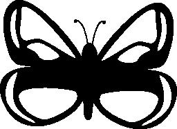 蝶デザイン無料のアイコン