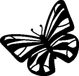 蝶は、バリアント無料アイコン