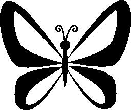 トップ ビュー無料アイコンから翼視点で蝶します。