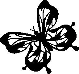 蝶無料アイコン