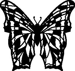 複合体の蝶の羽でデザイン無料のアイコン