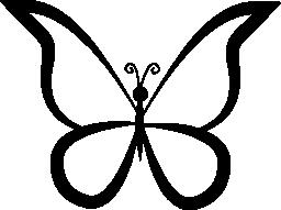 蝶トップ ビュー無料アイコンからの設計の概要
