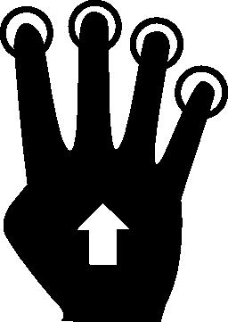 Tactil 無料のアイコン
