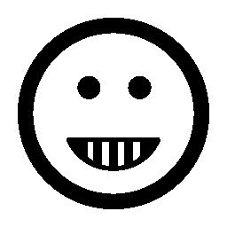 絵文字幸せ笑顔正方形図形無料のアイコン