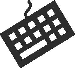 キーボード 2 無料アイコン