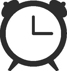 時計 3 無料アイコン