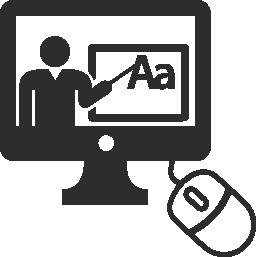 オンライン教育無料アイコン