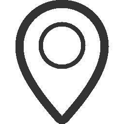 場所の gps の無料のアイコン
