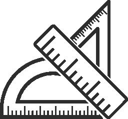 測定器の無料アイコン