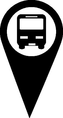 バス停 geolocalization 無料アイコン