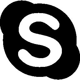 Skype の無料アイコンの社会的なボタン