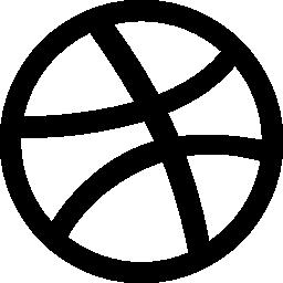 ドリブル ロゴ無料アイコン