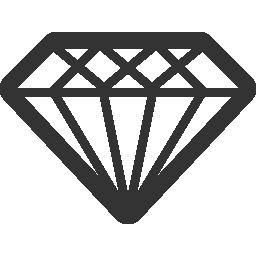 ダイヤモンド無料アイコン