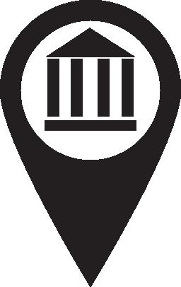 ピン マップ記念碑無料アイコン