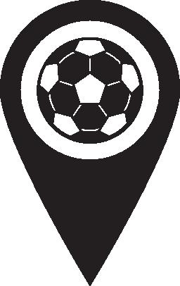 ピン マップ サッカー無料アイコン