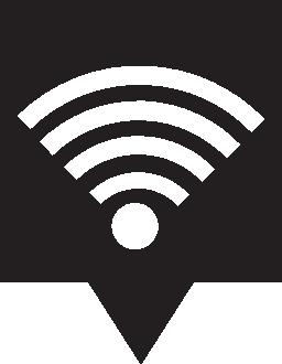 Wifi の場所無料アイコン