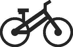 スポーツ自転車側無料アイコン
