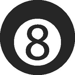 無料ベクトルのアイコンの最大のデータベース無料ベクトルのアイコンの最大のデータベース8 つのプールのボールの無料アイコン