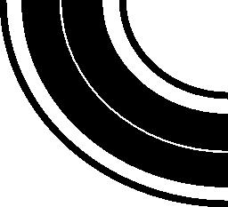 曲線道路無料アイコン