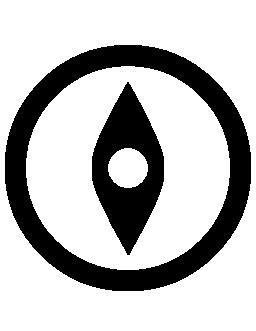 コンパス ツール無料アイコン