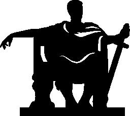 コンスタンティン。彫刻無料アイコン