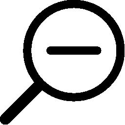 無料ベクトルのアイコンの最大のデータベースズーム アウト ツール シンボル無料アイコン