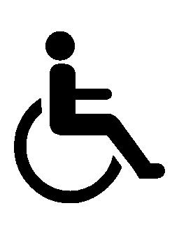 障害シンボル無料アイコン