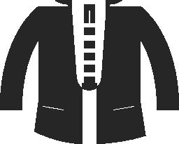 ジャケット コート無料アイコン