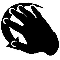 無料ベクトルのアイコンの最大のデータベース手の動きの無料アイコン