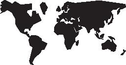 国際地図図形無料アイコン