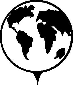 地球地球信号の無料アイコン