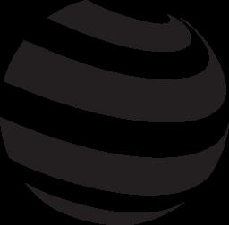 無料ベクトルのアイコンの最大のデータベースストライプ球無料アイコン