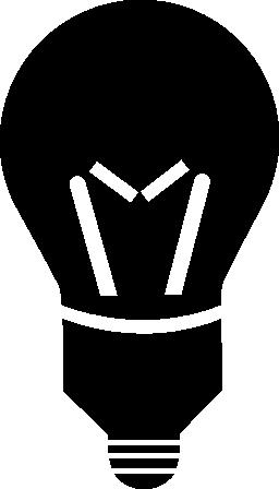 無料の電球アイコン
