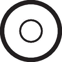 無料ベクトルのアイコンの最大のデータベース上からプレートの円は無料のアイコンを表示します。
