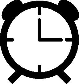 ビンテージ テーブル時計無料アイコン