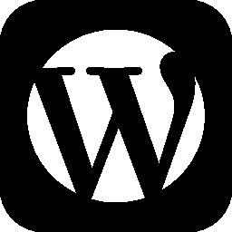 正方形の社会的なワードプレス無料アイコン